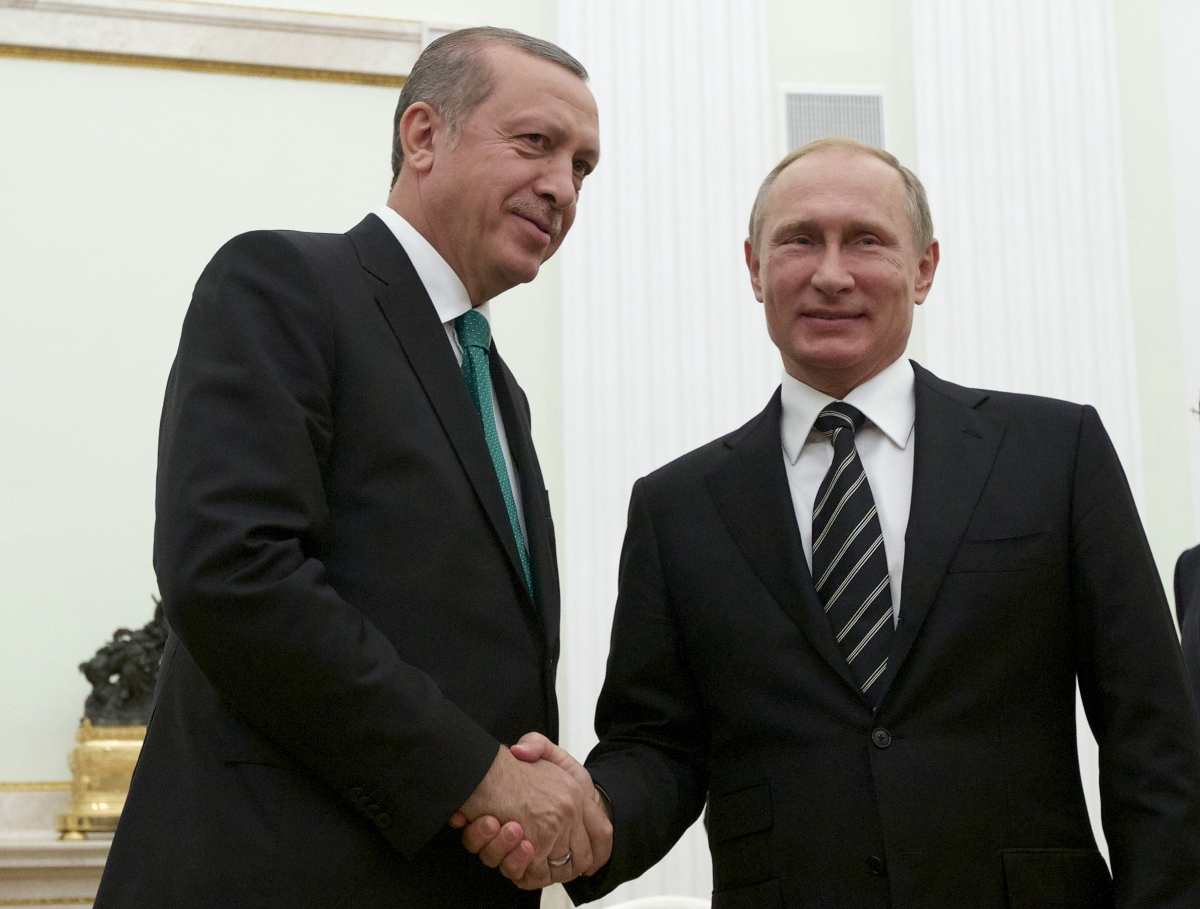 Putin and Erdogan meet in Moscow