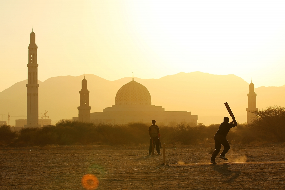 cricket oman
