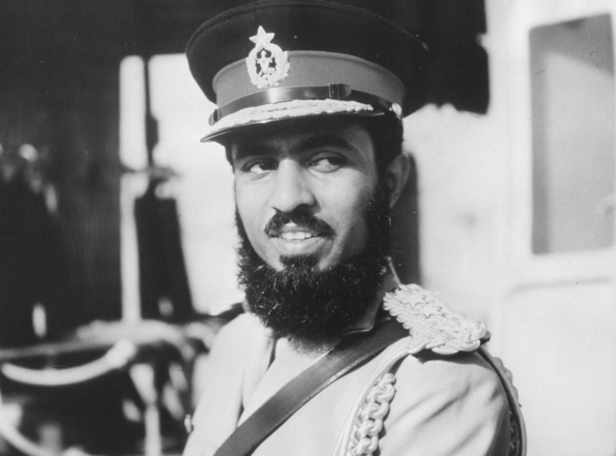 Sultan qaboos 1970