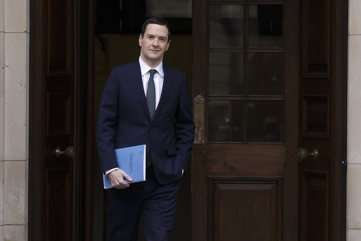 George Osborne Autumn Statement 2015