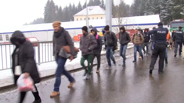 Refugees face low temperatures