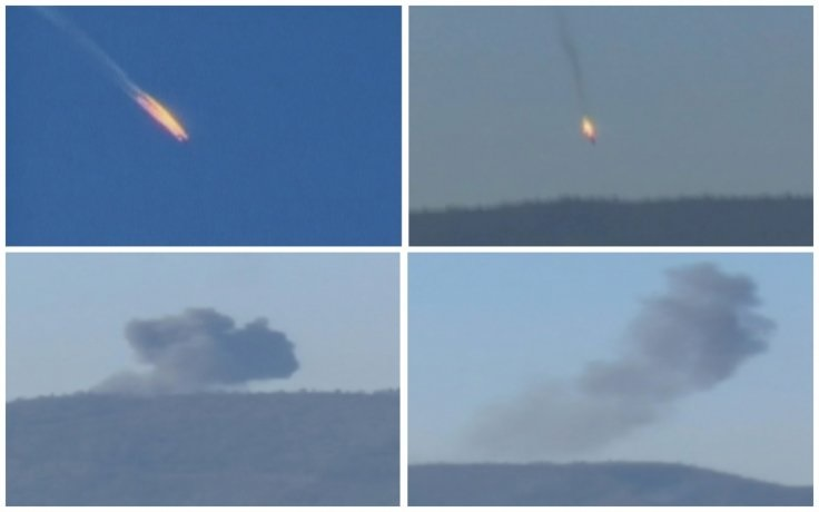 Downed Russian jet over Syria