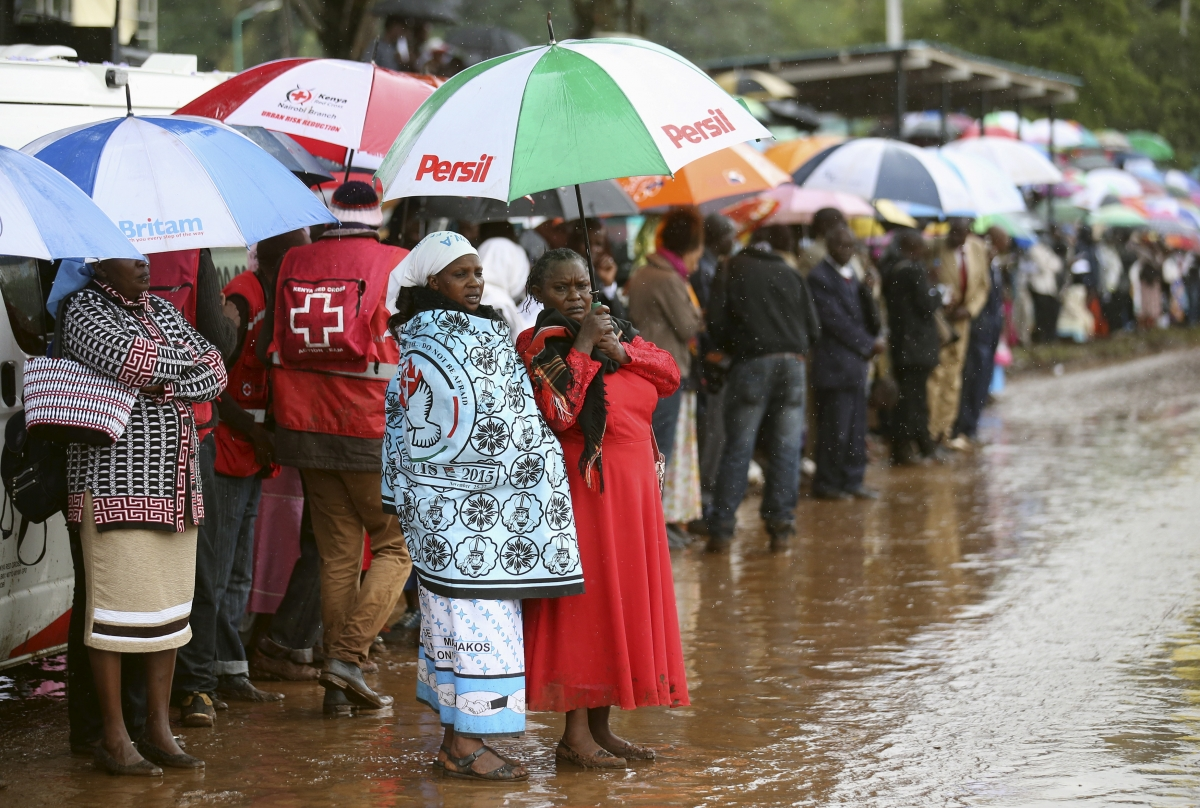 Pope Francis in Kenya - climate change