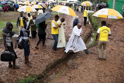 Pope in Kenya