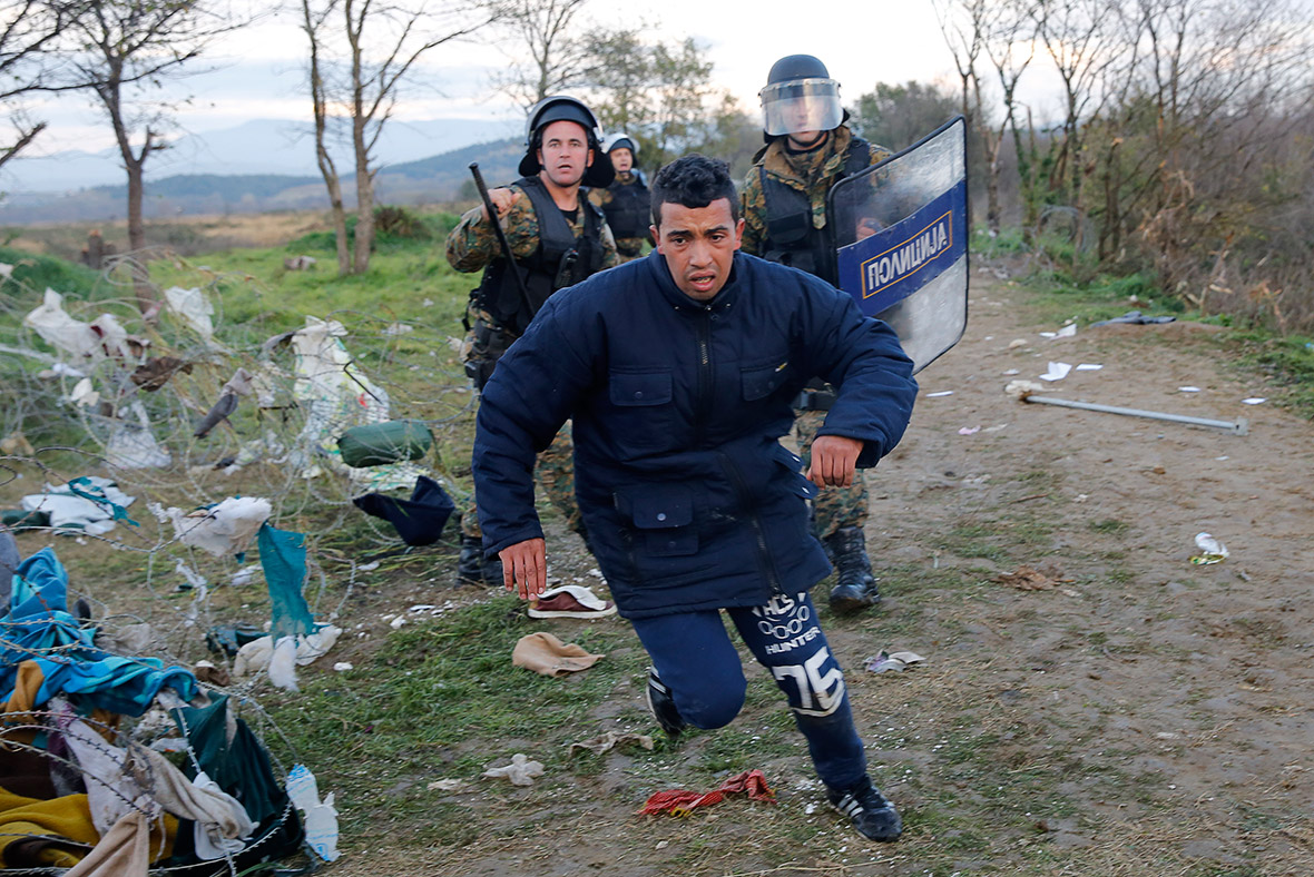 migrants Macedonia