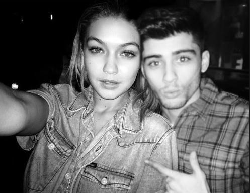 Gigi and Zayn Malik