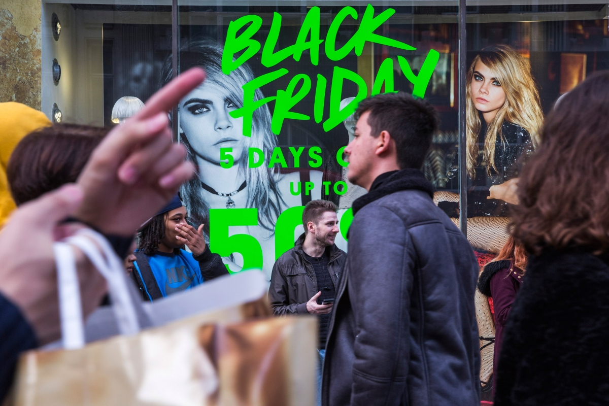 Black Friday store opening times