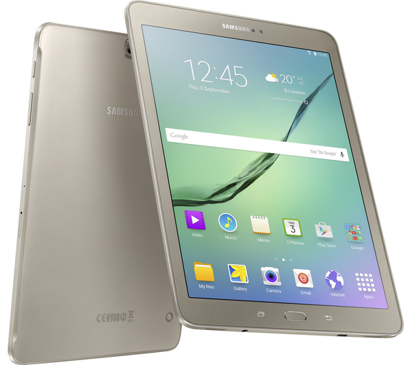 samsung galaxy tab s3 latest render for tablet shows off premium back and flash for front camera. Black Bedroom Furniture Sets. Home Design Ideas