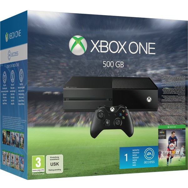 Microsoft Xbox One Console with FIFA 16