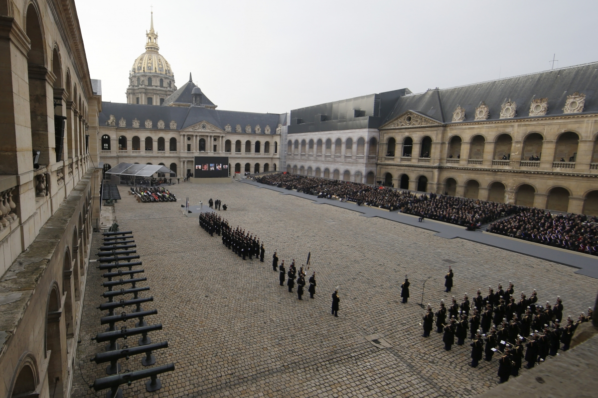 Paris attacks at Les Invalides