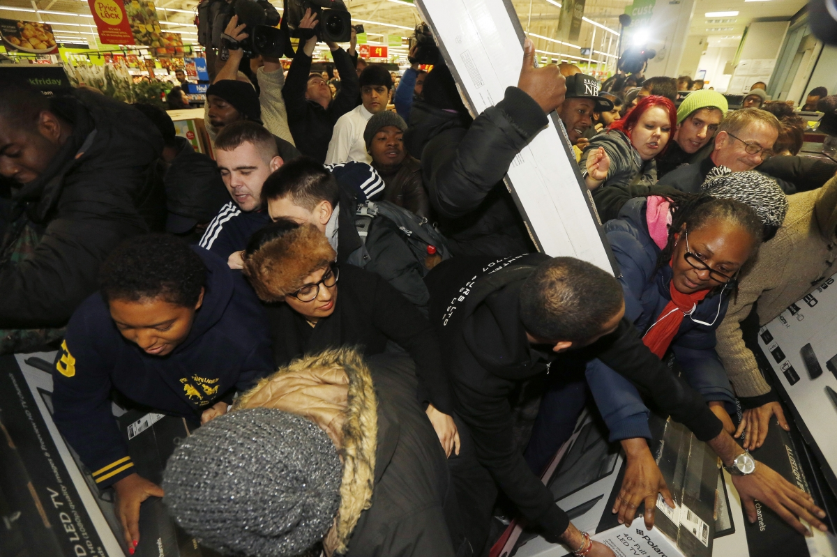 Even with holiday creep, Black Friday is a big shopping day