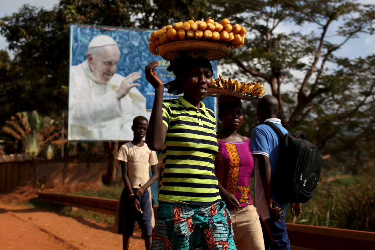 Pope Francis in Central African Republic