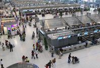 Suvarnabhumi Airport in Bangkok