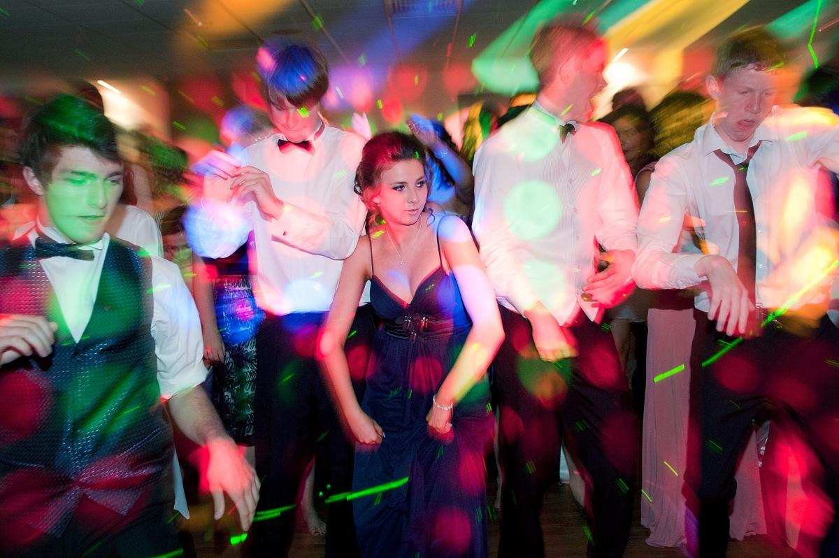 High school dance