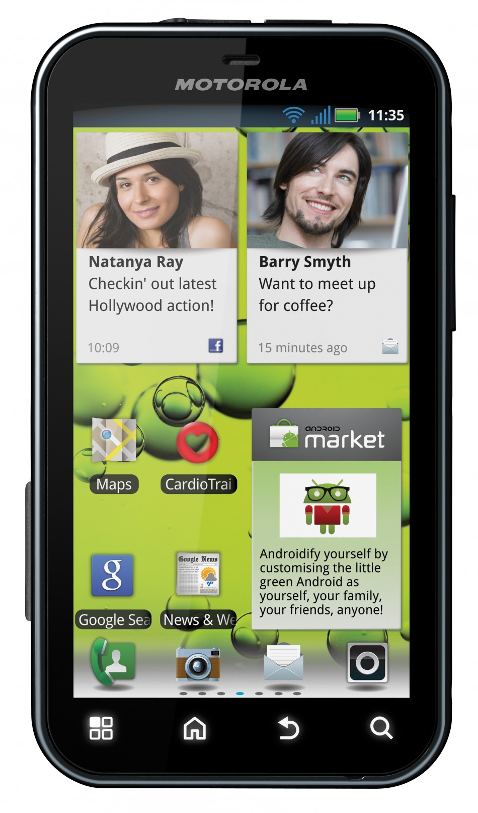 Motorola DEFY+ Unveiled Following Google Purchase