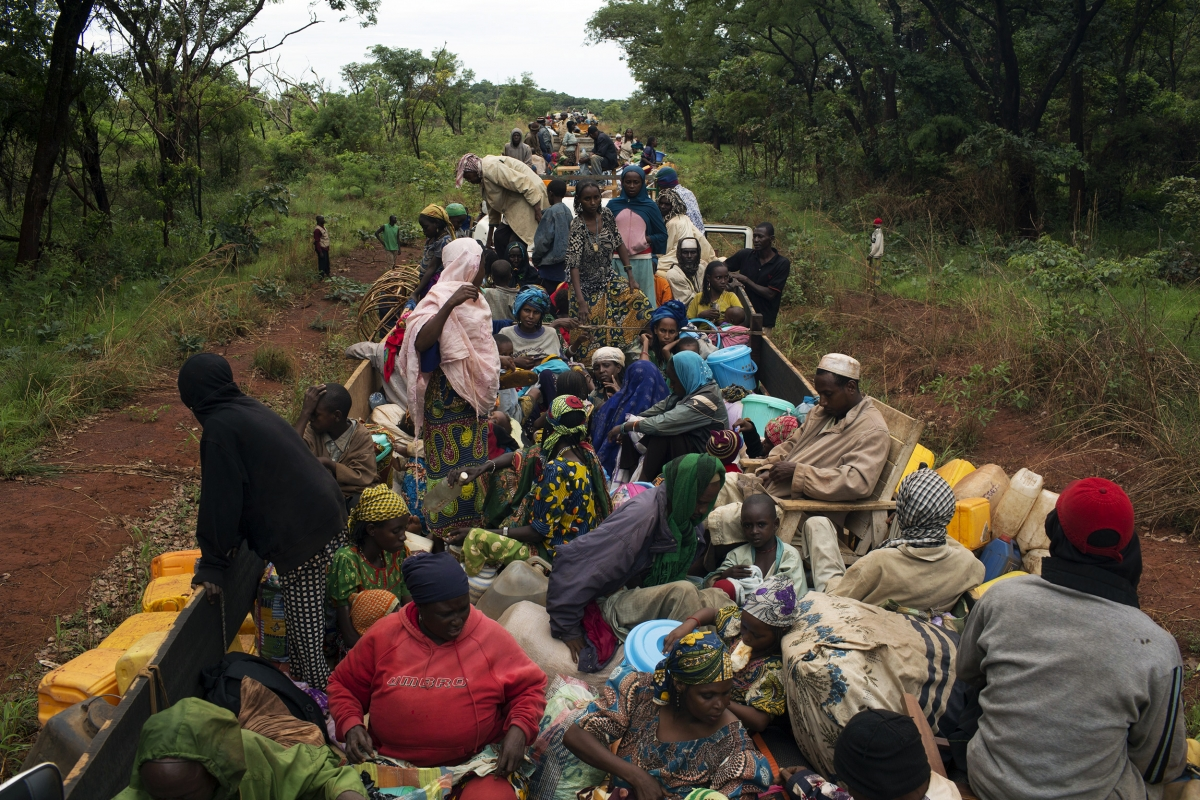 Central African Republic refugees