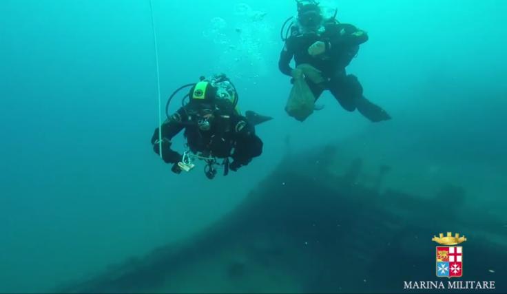 Laura Cosulich Mafia underwater explosives depot