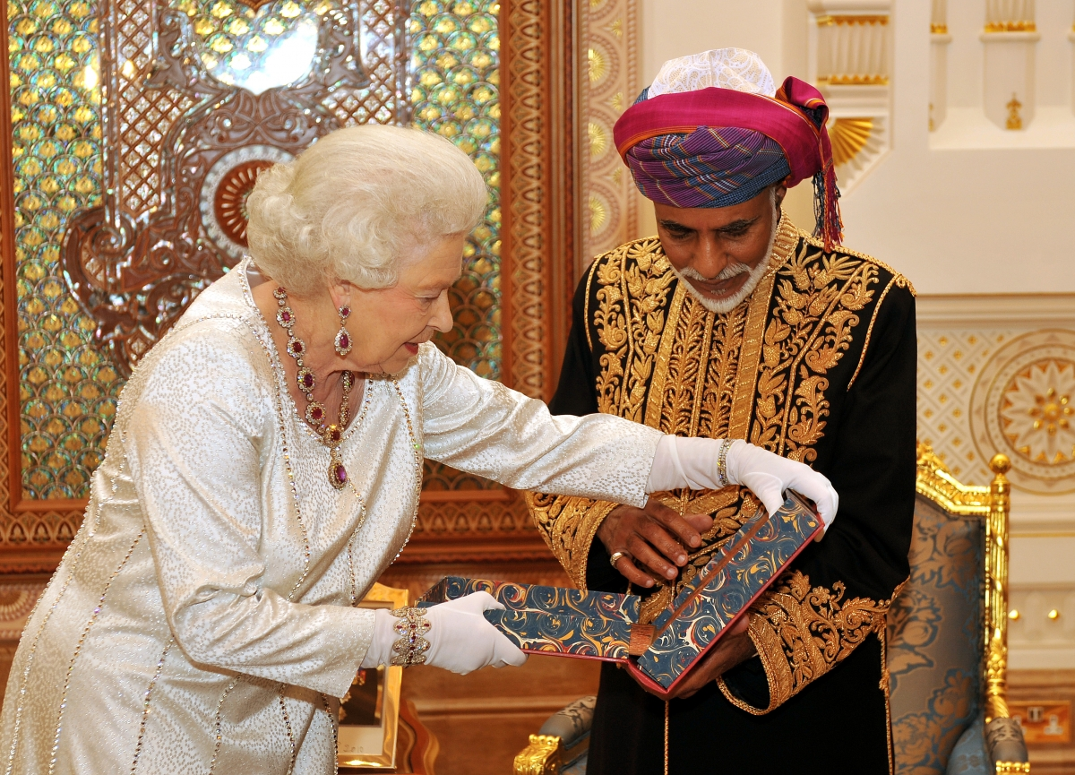 Sultan qaboos bin said homosexual relationships