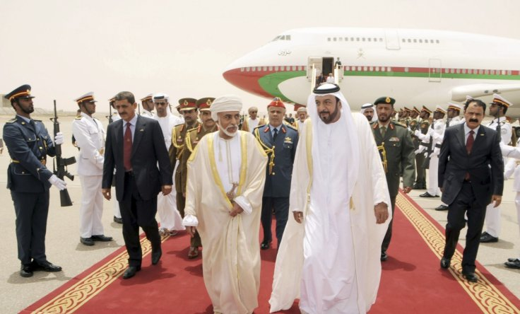 sultan qaboos and sheikh khalifa