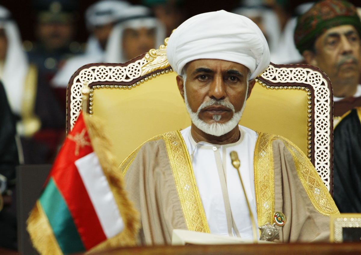 The sultan of oman homosexual statistics