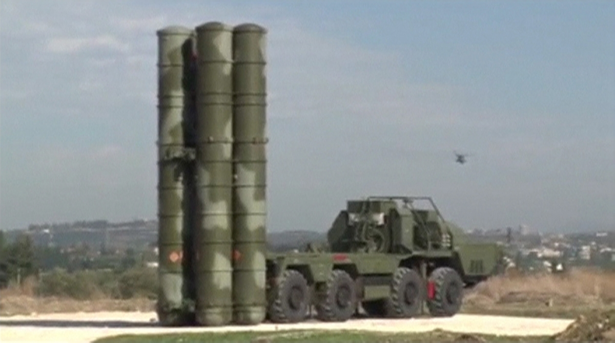 S-400 missiles, Hmeymim air base