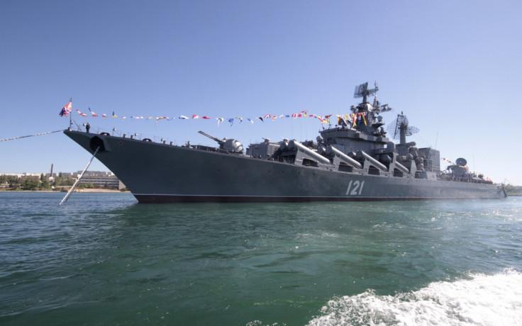 Moskva missile cruiser, Sevastopol