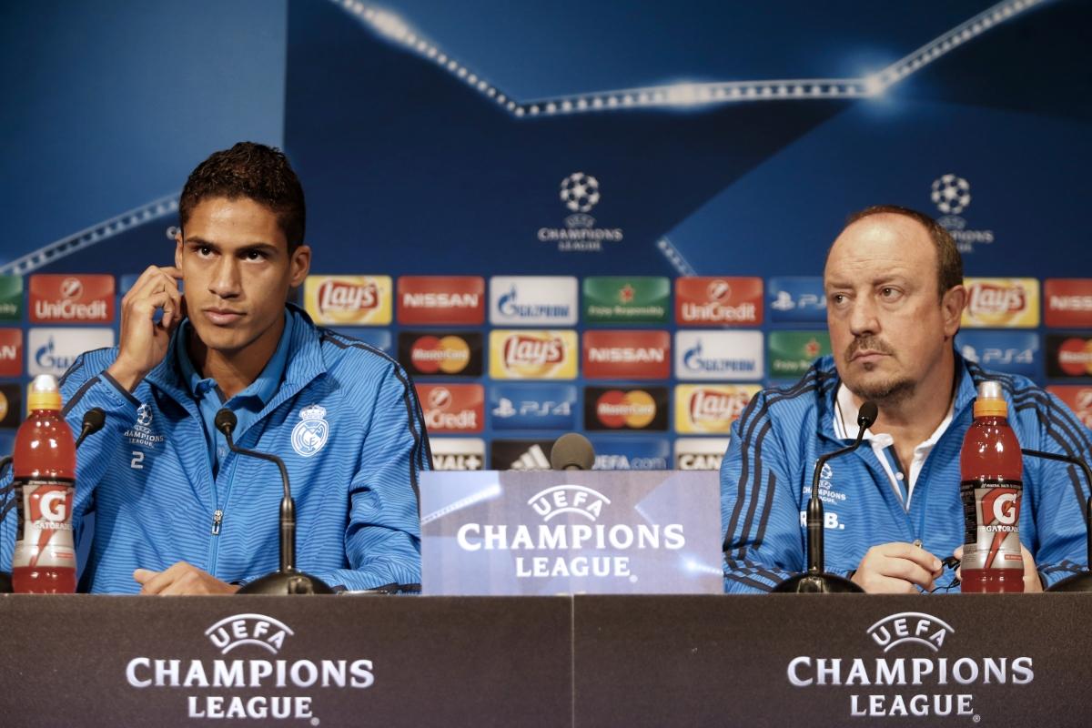 Raphael Varane & Rafael Benitez