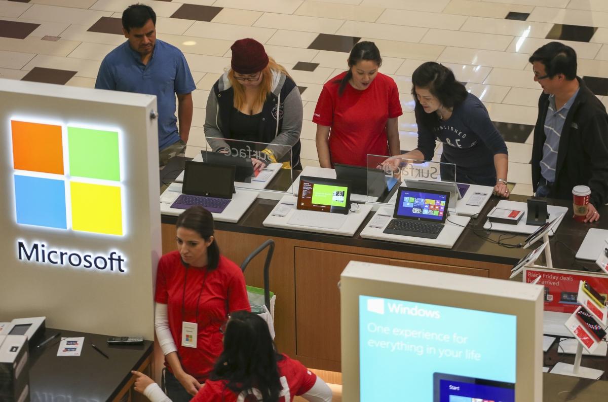 Microsoft Black Friday 2015 deals