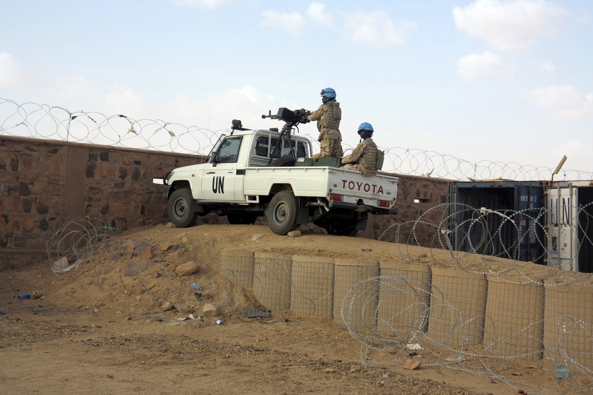 UN Base In Kidal, Mali
