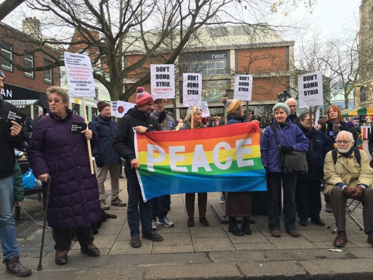 Norwich stop the war
