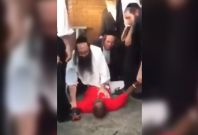 Rabbi takes down attacker