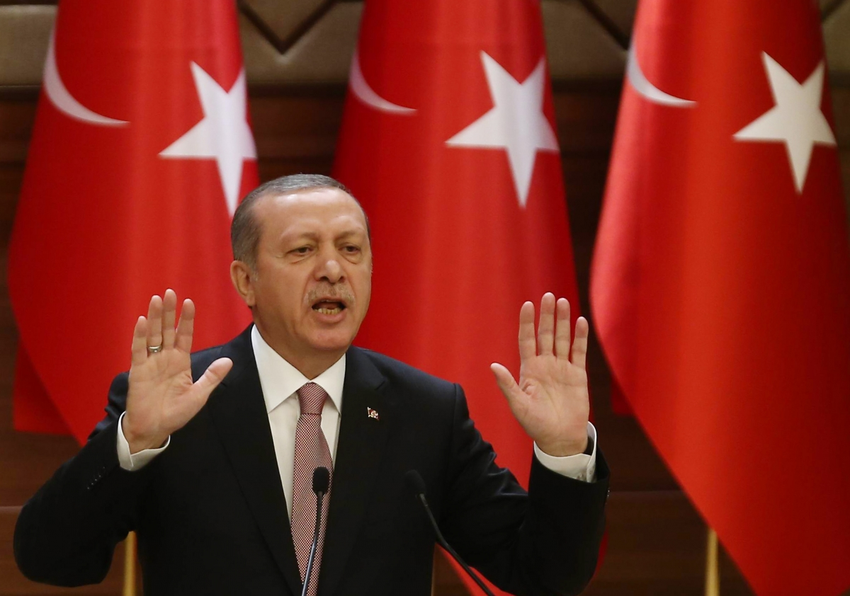 President Erdogan don't like Russia