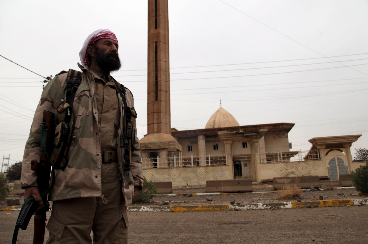 Yazidi volunteer