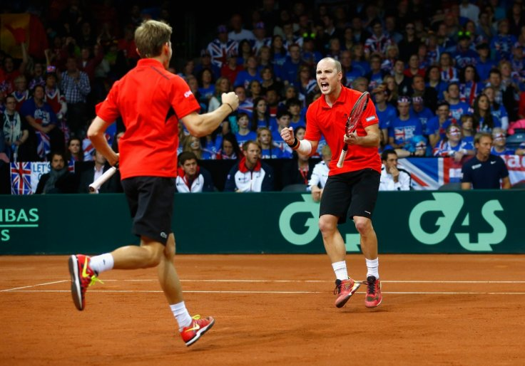 David Goffin and Steve Darcis