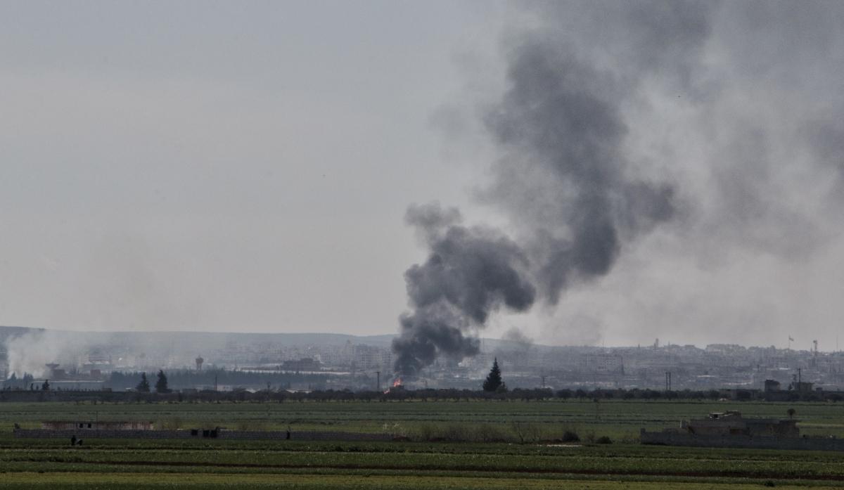 Syria Idlib province Russia air strikes