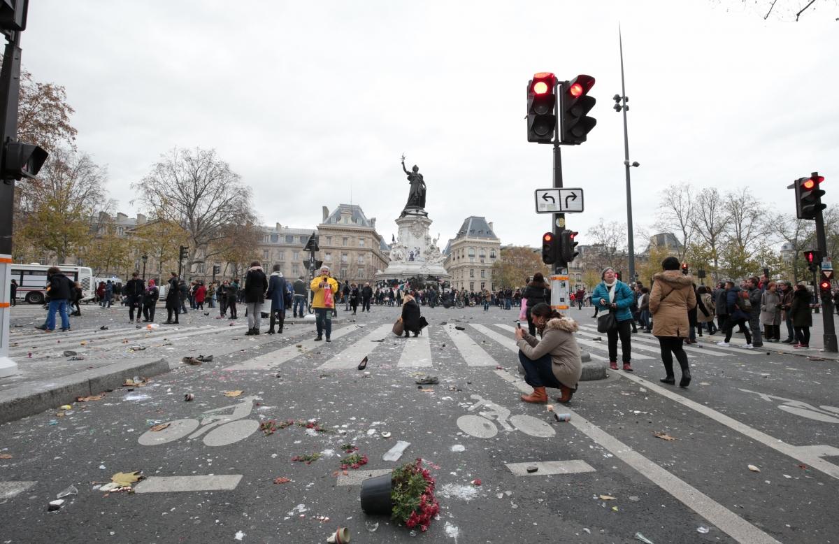 Place de la Republique after
