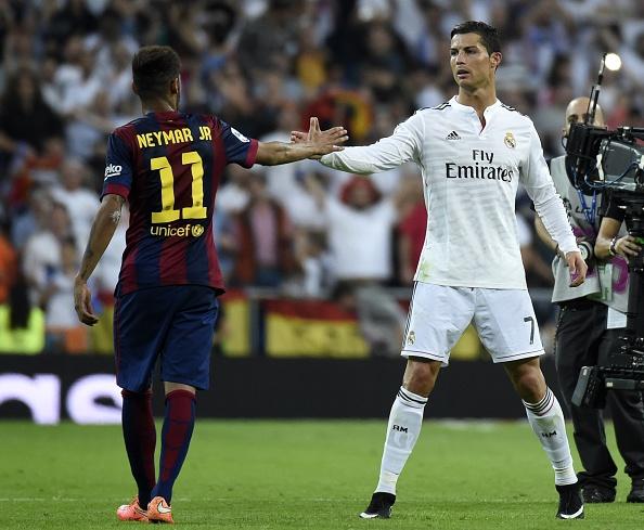 Neymar-Cristiano Ronaldo