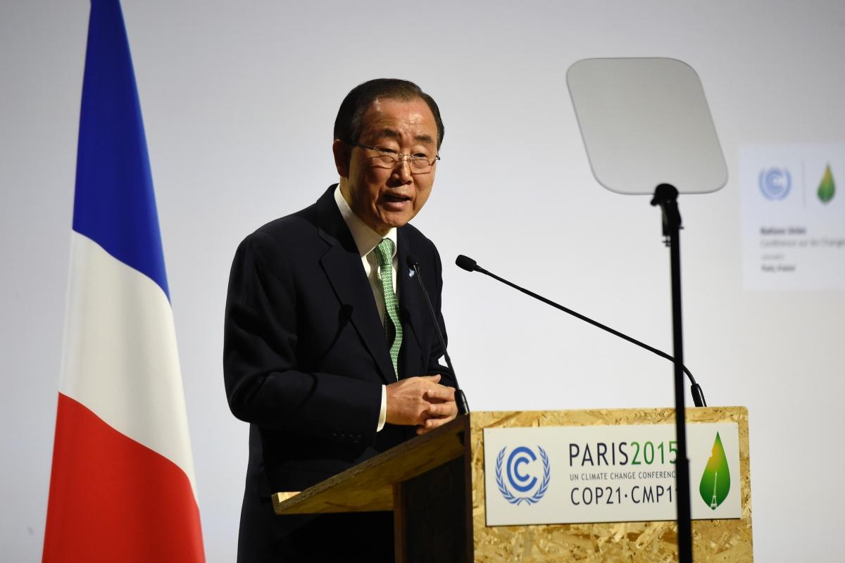 Ban Ki-moon cop21