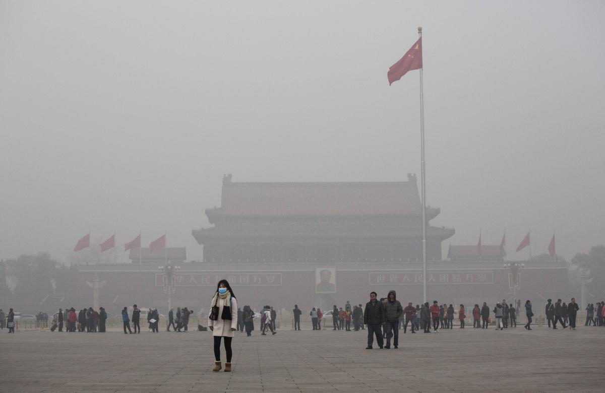 Beijing pollution