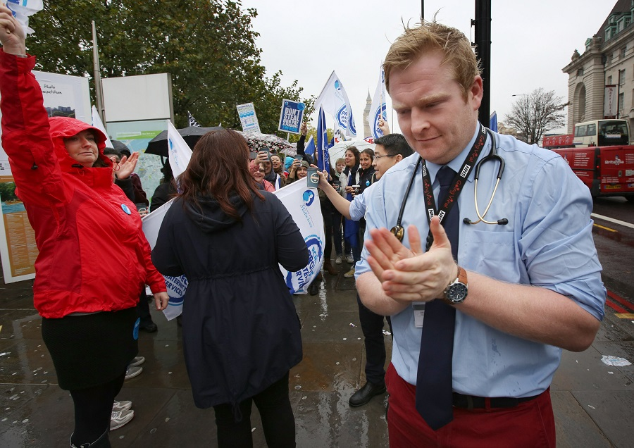 Junior doctor strike
