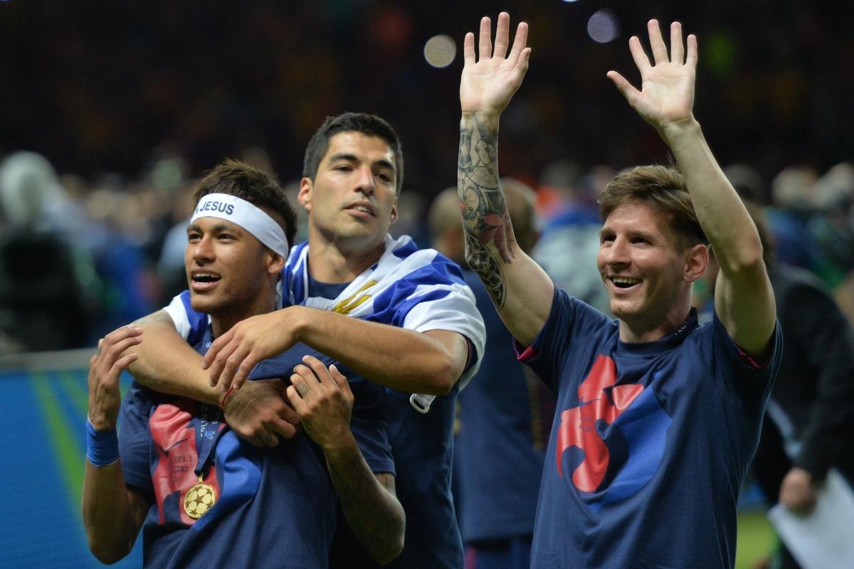 Lionel Messi Luis Suarez And Neymar MSNs Friendship Key To Barcelona Trios 2015 Goal Glut