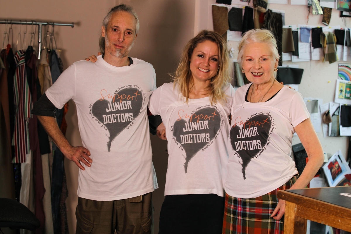 Vivienne Westwood designs for Junior Doctors