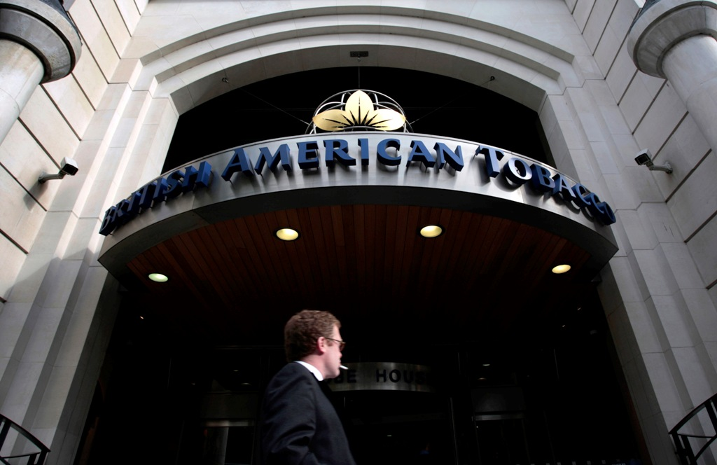 British American Tobacco accused of paying bribes to African politicians among others