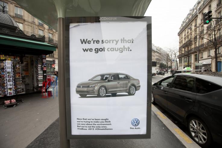 Brandalism fake advert for COP21