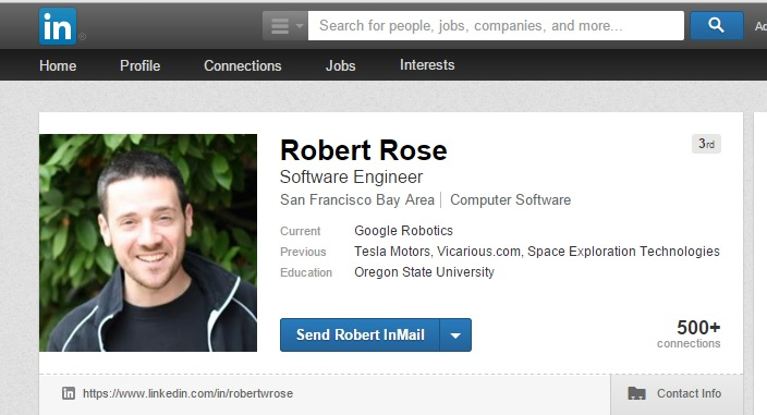 Robert Rose Google Tesla