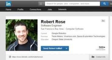 Robert Rose Google Tesla