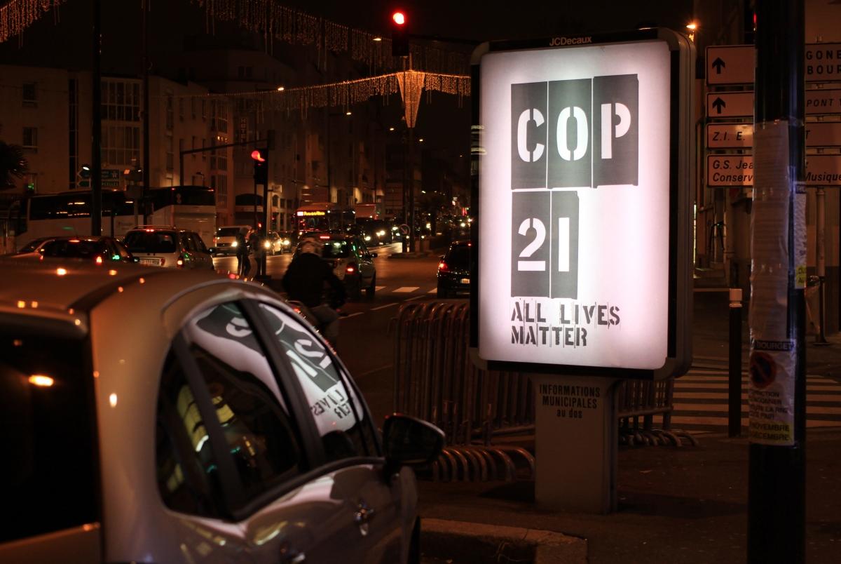 COP21 Brandalism