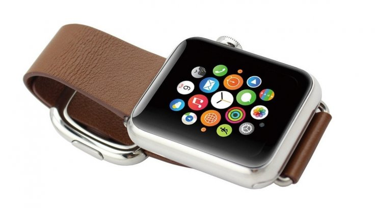 Apple Watch modern magnetic buckle strap