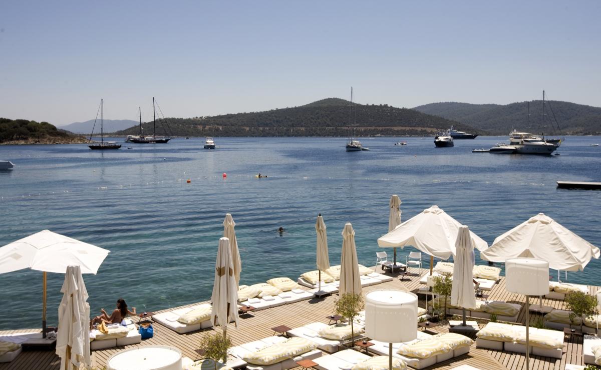 Tourist resort, Bodrum, Turkey