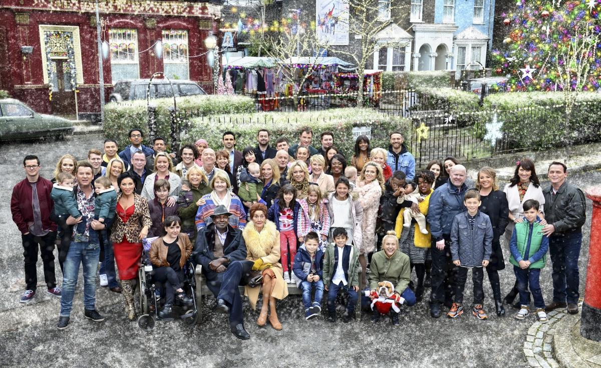 EastEnders Christmas cast